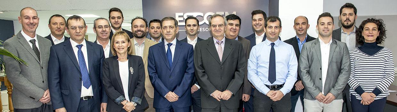 Escoem - foto del equipo de profesionales