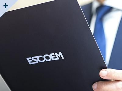 logotipo de ESCOEM SOCIEDAD LIMITADA PROFESIONAL