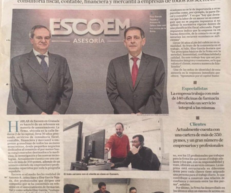 Escoem, asesoramiento empresarial de calidad