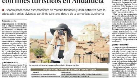 Requisitos legales de las viviendas con fines turísticos en Andalucía