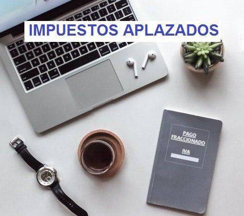 APLAZAMIENTO DE IMPUESTOS
